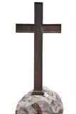 Old metal cross Stock Photo