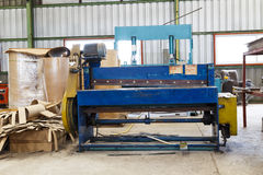 Old metal cutting machine Royalty Free Stock Images
