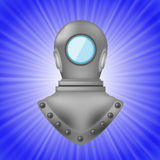 Old Metal Diving Helmet Royalty Free Stock Photo
