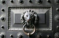 Old metal door Stock Photo