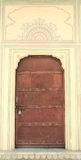 Old Metal Door. Stock Images
