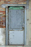 Old metal door Royalty Free Stock Images