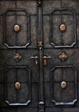 Old metal door detail in Salzburg Royalty Free Stock Image