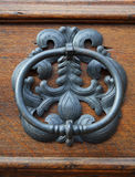 Old metal door-handle Royalty Free Stock Image
