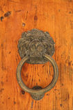 Old metal door handle Royalty Free Stock Photos
