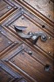 Old metal door handle Stock Photography