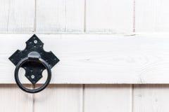 Free Old Metal Door Handle Knocker Royalty Free Stock Image - 111310146
