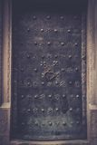 Old metal door Royalty Free Stock Image
