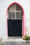 Old metal door in Medina, Tangier, Morocco Stock Photo