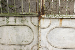 Old metal door Royalty Free Stock Photos