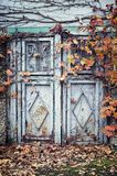 Old metal door. Royalty Free Stock Photography