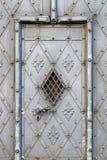 Old metal door in old town Stock Photography
