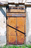 Old metal door Stock Photography