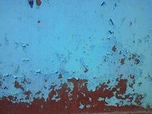 Old metal door with rust Royalty Free Stock Image