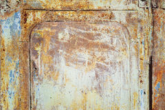 Old metal door Stock Photography