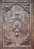Old metal door texture with rust stock photography