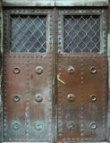Old metal door Royalty Free Stock Photo