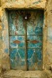 Old metal door Royalty Free Stock Photo