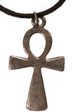Old metal egyptian cross Stock Photo