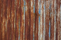 Old metal fence. Royalty Free Stock Photos