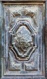 Old metal frame of a door Stock Photo