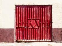 Old metal gate Royalty Free Stock Image