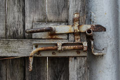 Old Metal Gate Knob Stock Image