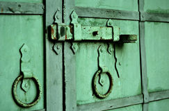 Old metal gate Stock Photos