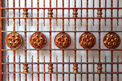 Old metal gates Stock Photography
