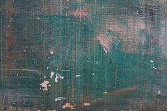 Old metal green painting background Stock Image