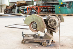 Old metal grinder machine Royalty Free Stock Photography