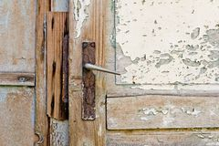 Old metal handle Royalty Free Stock Photos