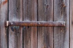 Old metal hinge Stock Photos