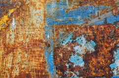 old metal iron rust background and texture grunge Royalty Free Stock Photos