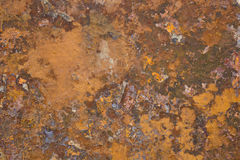 Old metal iron rust surface Royalty Free Stock Photo