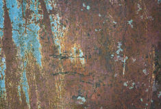 Old metal iron rust texture. Suitable for background,backdrop,wallpaper and all artwork about rust background for your design. stock image