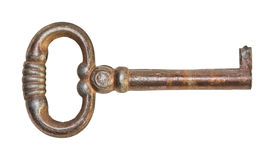 Old metal key Royalty Free Stock Photos