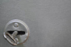 Old metal key Stock Photo