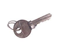 Old metal key Stock Images