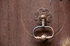 Old metal knocker Stock Photography