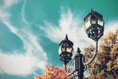 Old metal lantern Royalty Free Stock Images