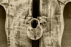 Old metal lock royalty free stock image
