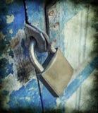 Old metal lock ,vintage style Stock Images