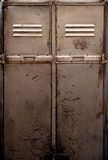 Old metal locker Stock Photos