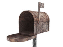 Old metal mail box Stock Photography