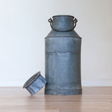 Old metal milk can Stock Photos