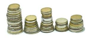 Old metal money Royalty Free Stock Image