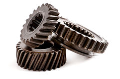 Old metal parts gear Royalty Free Stock Image
