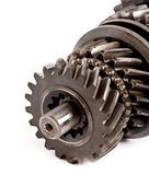 Old metal parts gear Royalty Free Stock Photo