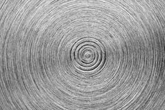 Old metal plate.Abstract black-and-white background. Stock Image